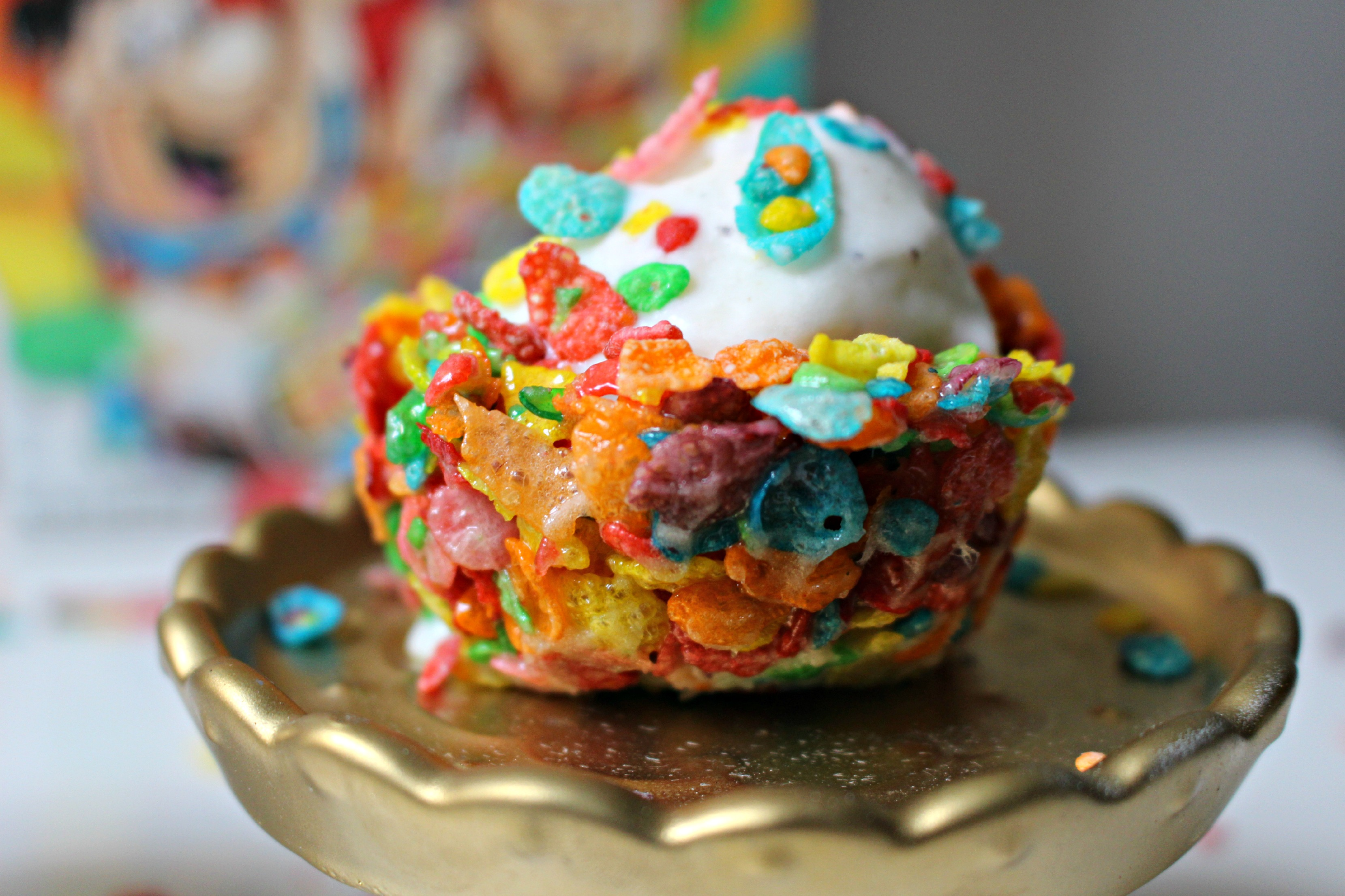 Fruity Pebble Bowls • TwinspirationBowl Of Fruity Pebbles