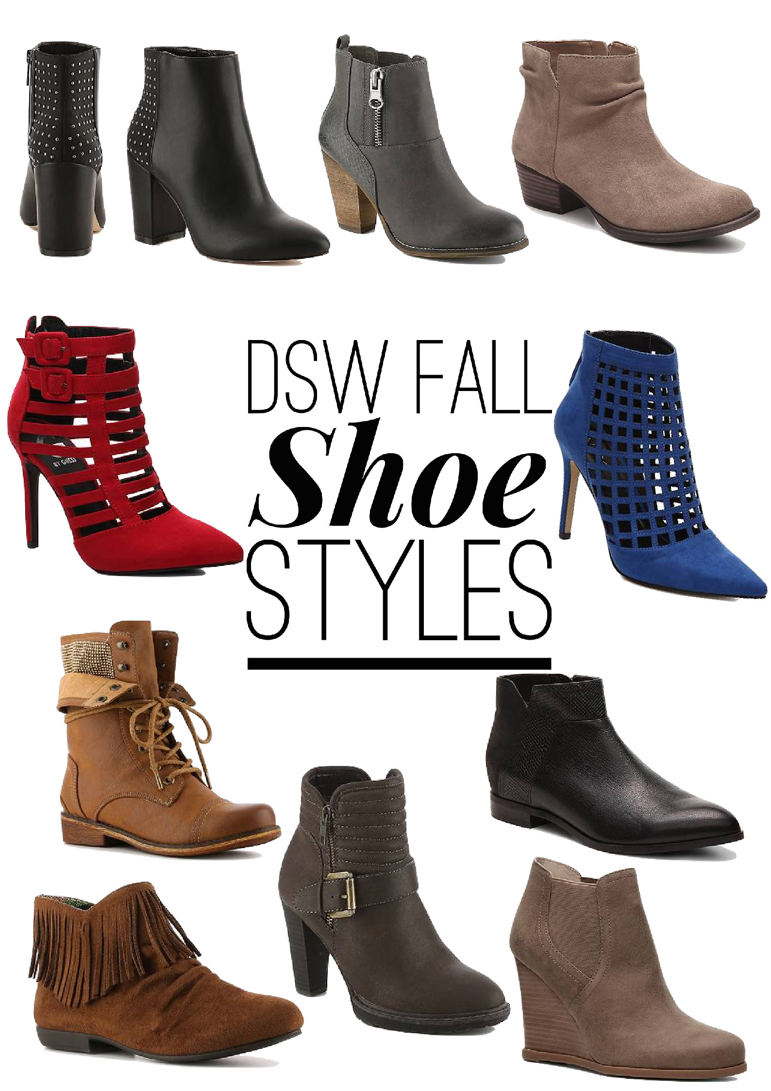 Dsw - One Pair Of Booties Three Ways With Dsw Shoes
