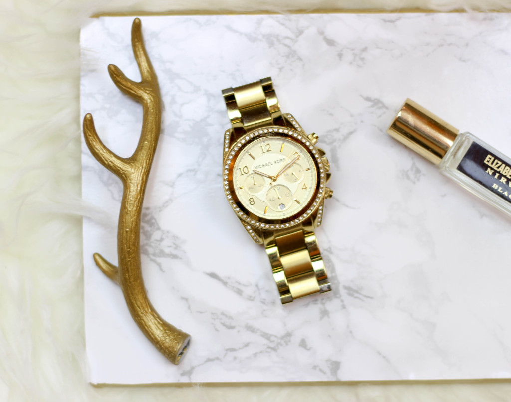 DIY Gold & Marble Tray, For Less Than $10 by Twinspiration