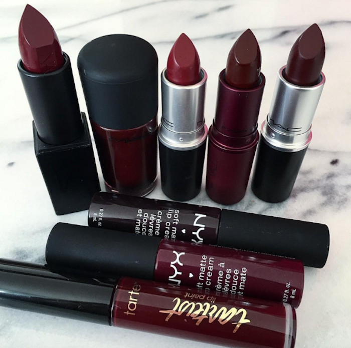 the burgundy lipstick look The ultimate deep red lipstick and liner duo. Create instant definition for fully accentuated lips by lining your lips with an even darker shade.