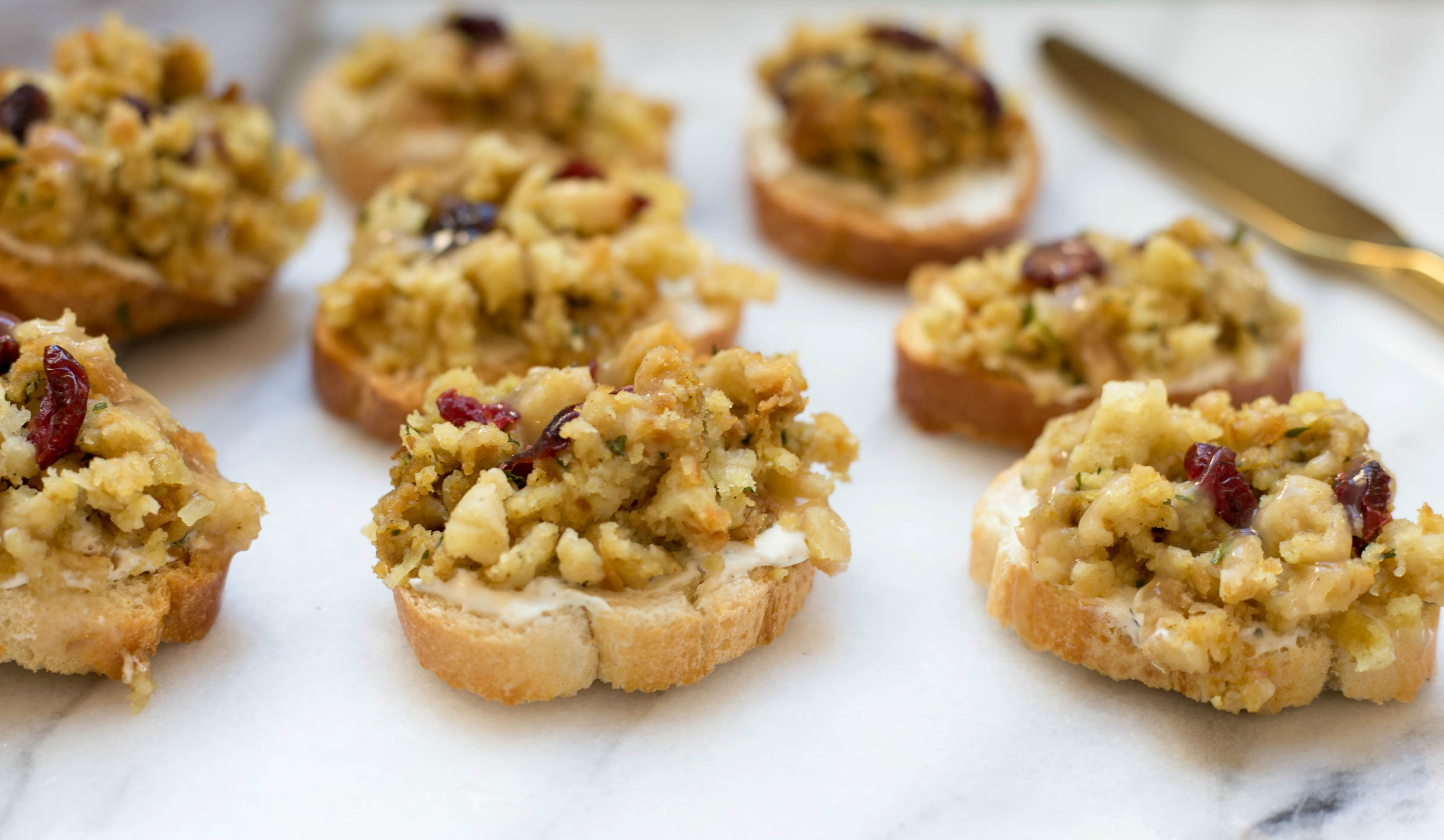 Thanksgiving Bruschetta | Twinspiration