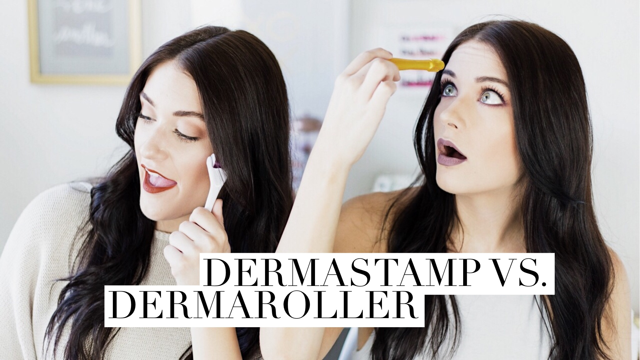Dermastamp vs. Dermaroller | Twinspiration
