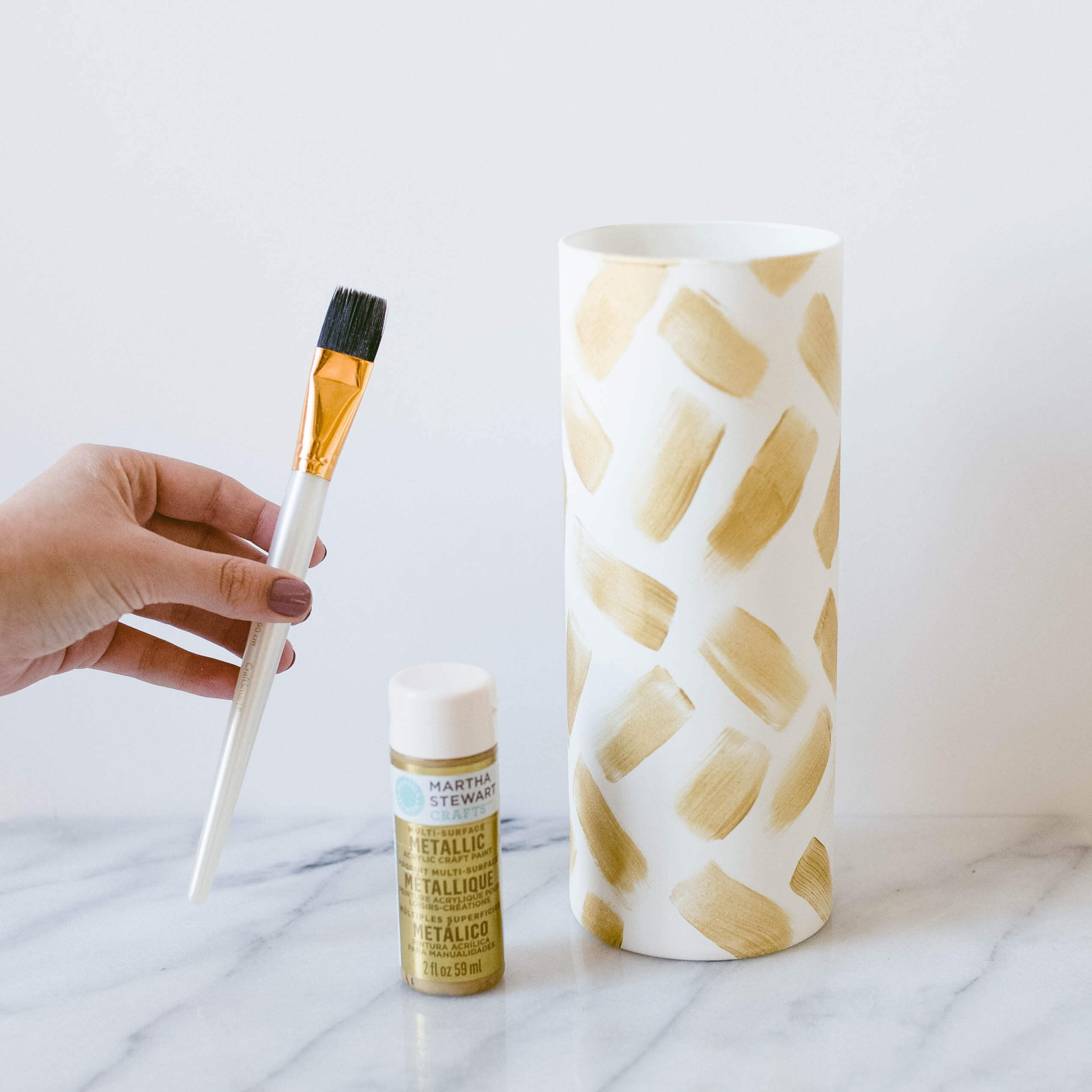 DIY Faux Ceramic Vases | Twinspiration