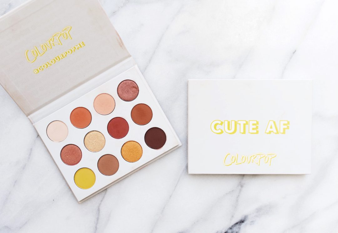 Colourpop Yes Please Palette Review + Swatches | Twinspiration