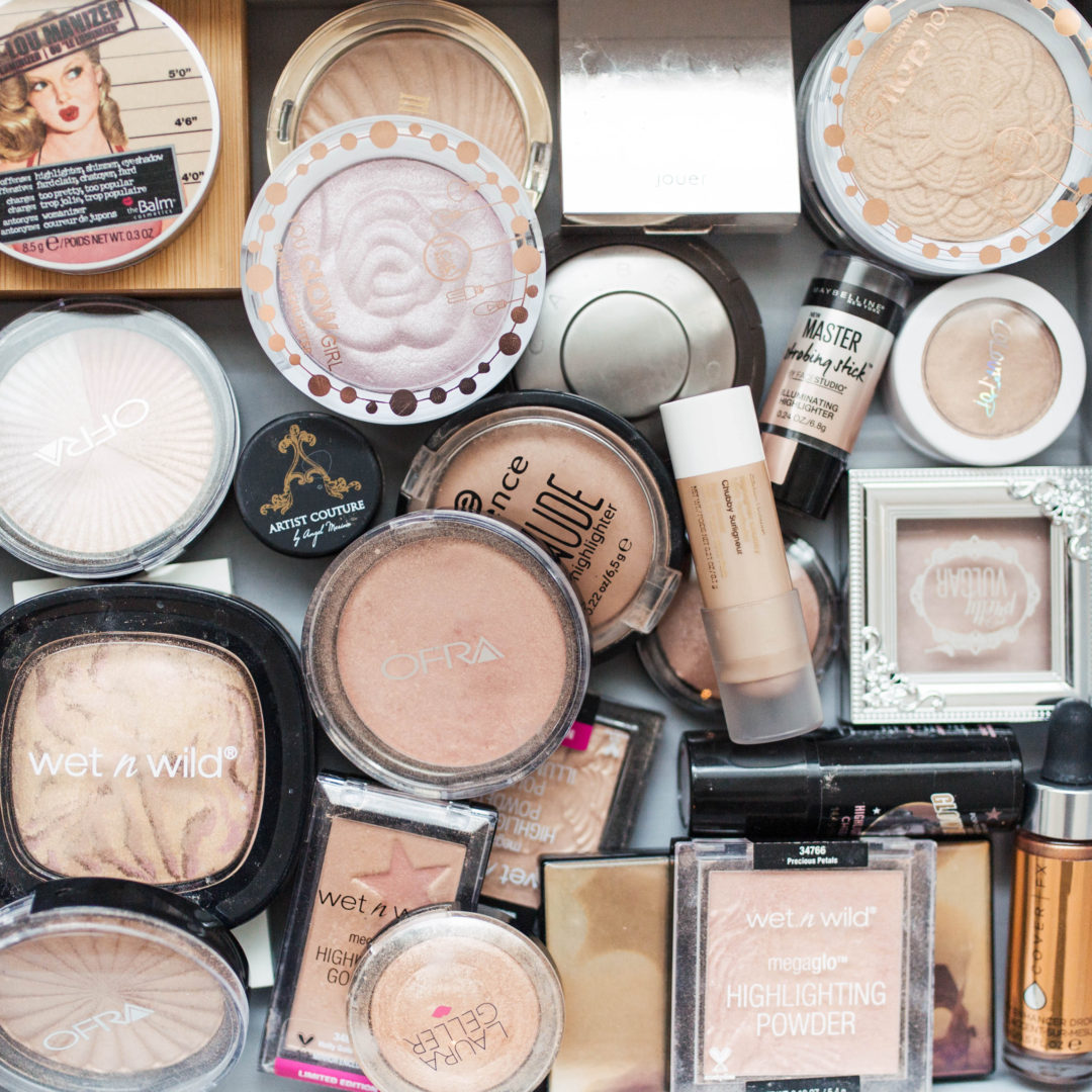 Highlighter Collection + Mini Review   Twinspiration