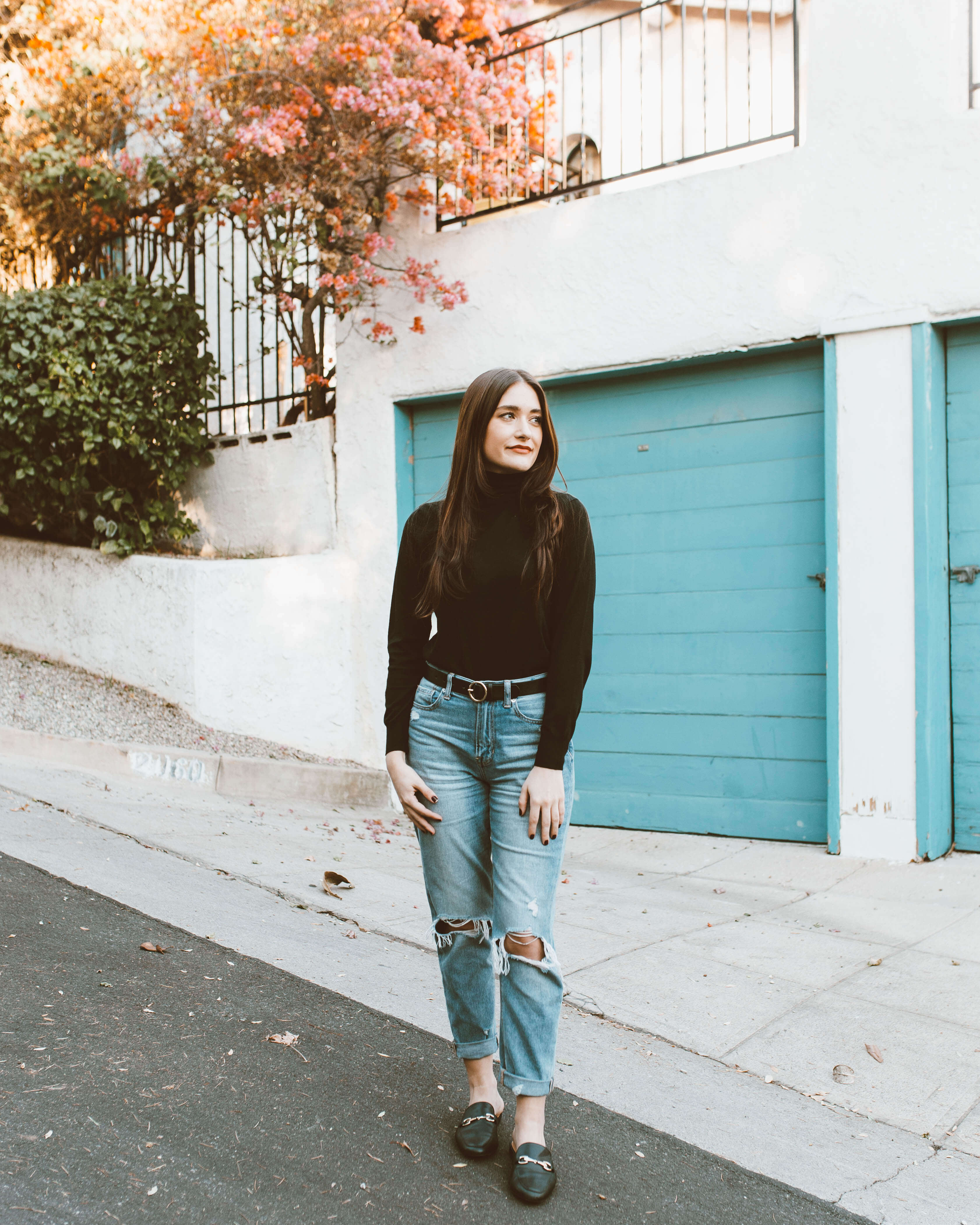How To Style A Black Turtleneck | Twinspiration