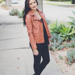 Go Bold With A Moto Jacket | Twinspiration