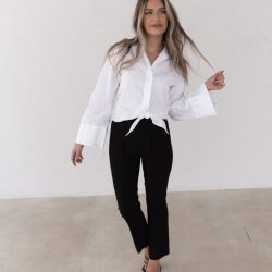 The Perfect White Button Up | Twinspiration