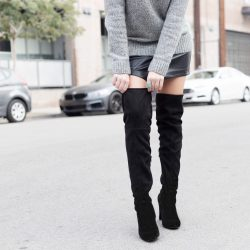 How to Style Over the Knee Boots | TwinspirationHow to Style Over the Knee Boots | Twinspiration