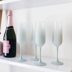 DIY Vintage Frosted Glassware   Twinspiration