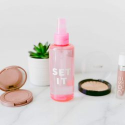 DIY Makeup Setting Spray | Twinspiration