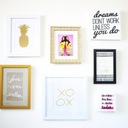 How to Create A Gallery Wall | Twinspiration